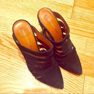"Rebecca Minkoff leather 4"" heels"